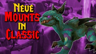 WoW: Nueva montura en Burning Crusade Beta - ¿Habrá una tienda en el juego?
