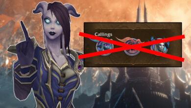 WoW: Presta atención, a partir de hoy no hagas más tus misiones de llamadas.