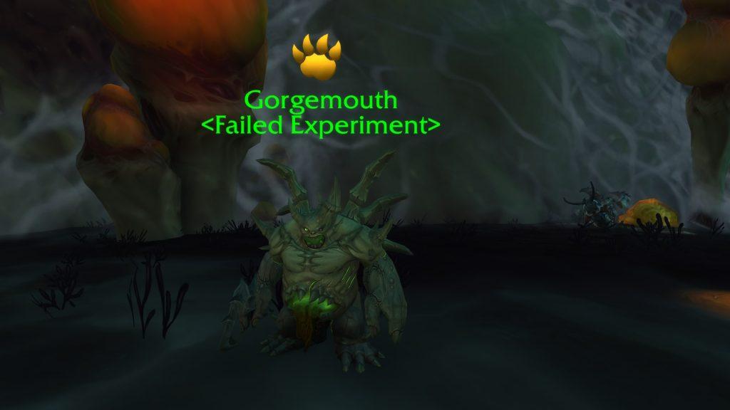 Mascota de duelo de WoW Gorgemouth