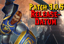 WoW: el parche 9.0.5 tiene fecha de lanzamiento; comienza la semana que viene