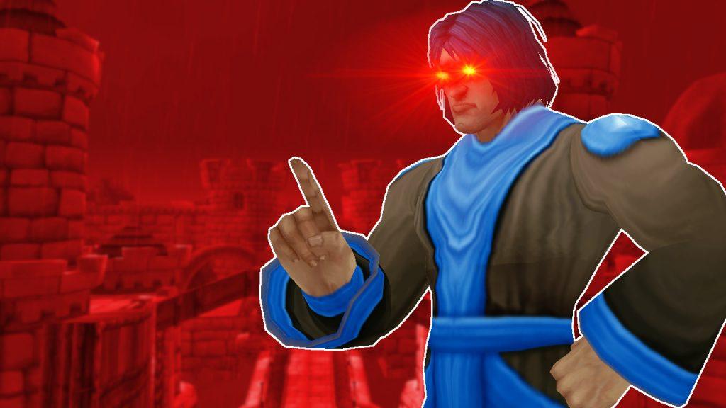 WoW GM Gamemaster Red Eyes Sin título 1280x720