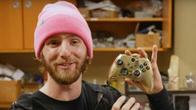 YouTuber ahora posee el controlador Xbox más caro del mundo, ciertamente no quieres jugar con él