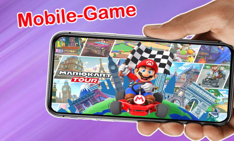 ¿Sabías que también puedes jugar al popular Mario Kart en tu teléfono móvil?