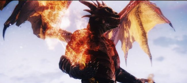 Alas de dragón animadas (Xbox One)