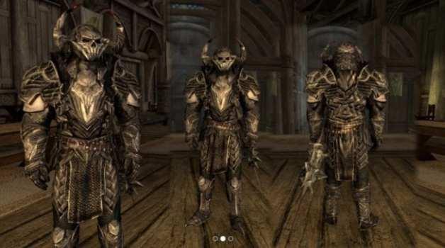 Armadura de caballero de Molag Bal (PC, Xbox One)