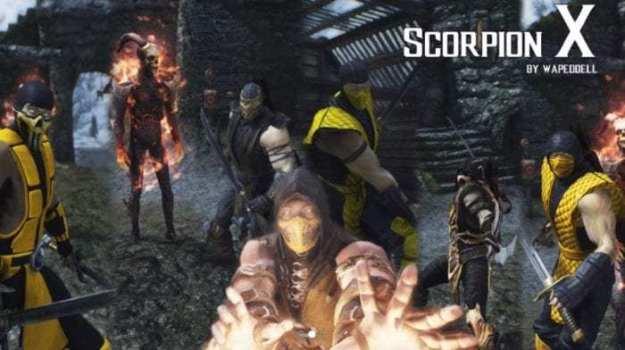Mortal Kombat Scorpion Trilogy (PC, Xbox One)