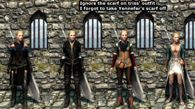 Triss & Yennefer Armor Mod (PC, Xbox One)