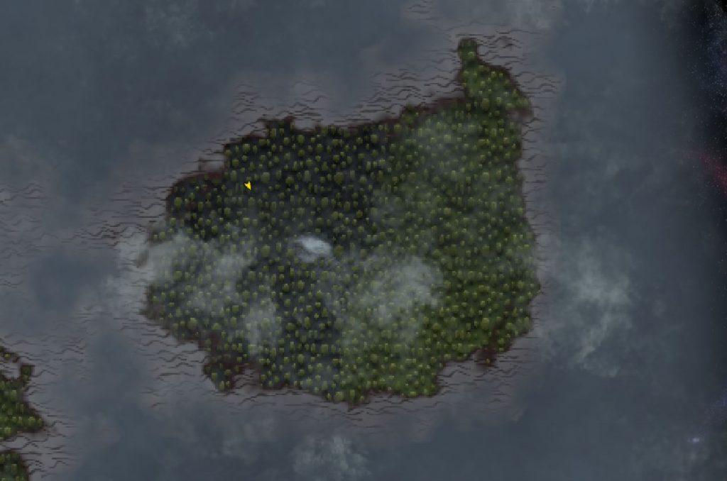 Valheim Nebellande en el mapa