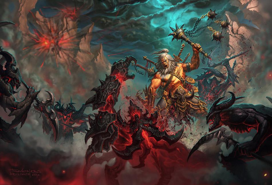 Título bárbaro de Diablo 3