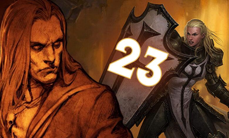Diablo 3 Temporada 23: Mejores clases, mejores construcciones - Lista de niveles