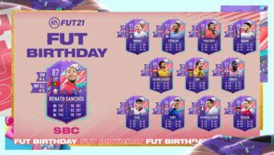 FIFA 21: Cumpleaños de SBC Renato Sanches FUT - Requisitos y soluciones