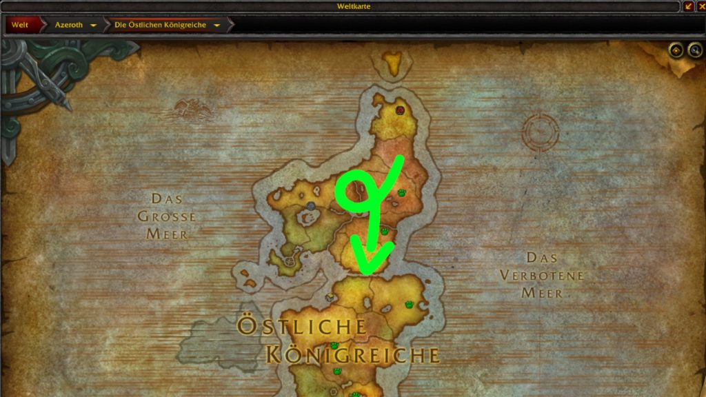 noob de world of warcraft en los reinos del este