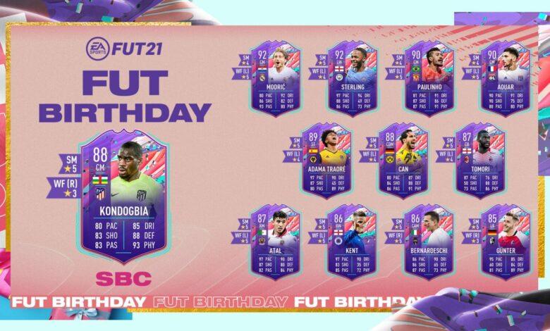FIFA 21: Cumpleaños de SBC Geoffrey Kondogbia FUT - Requisitos y soluciones
