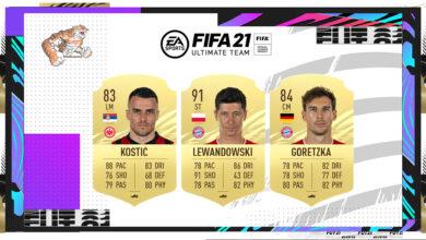 FIFA 21: Nominaciones POTM de marzo de la Bundesliga