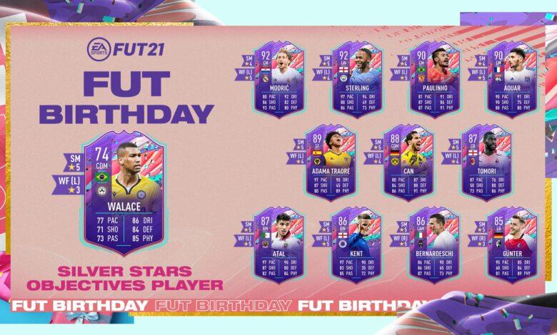 FIFA 21: Logros de cumpleaños de Walace Silver Stars FUT - Requisitos