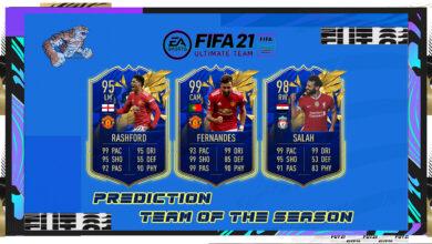 FIFA 21: Prediction TOTS Premier League: uno de los equipos de la temporada más esperados de FUT