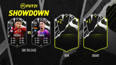 FIFA 21: SBC Tolisso vs Kehrer Showdown - Requisitos y soluciones