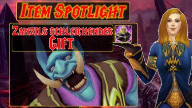 WoW: Item Spotlight - El veneno rastrero de Zanzil es la mejor venganza