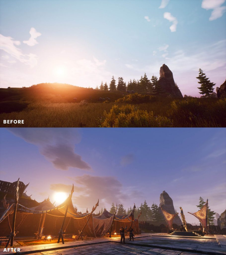 Conan Exilia Isle of Siptah antes y después de 4