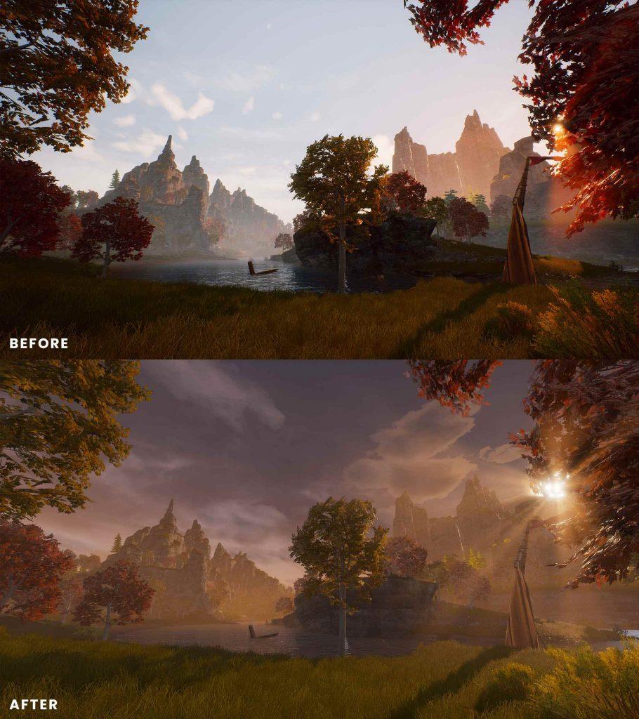 Conan Exilia Isle of Siptah antes y después de 3