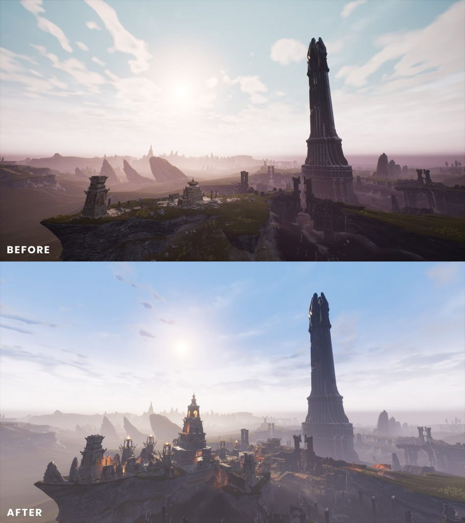 Conan Exilia Isle of Siptah antes y después de 1
