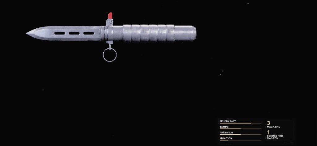 Cuchillo balístico Warzone