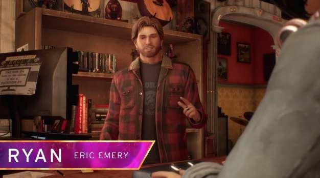 Ryan como Eric Emery