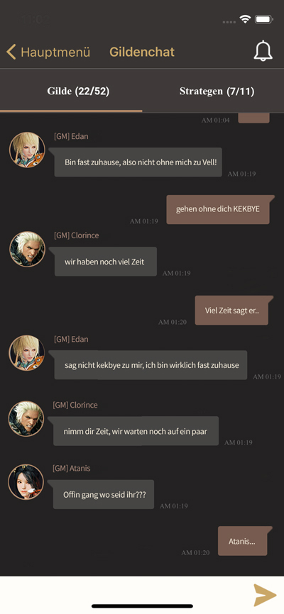 Black Desert + App Chat