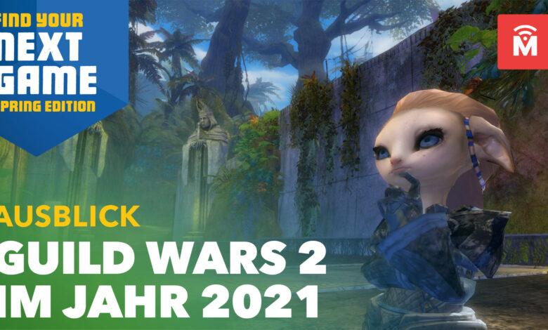 Guild Wars 2 revela planes para 2021: trae 4 grandes cambios hasta la expansión