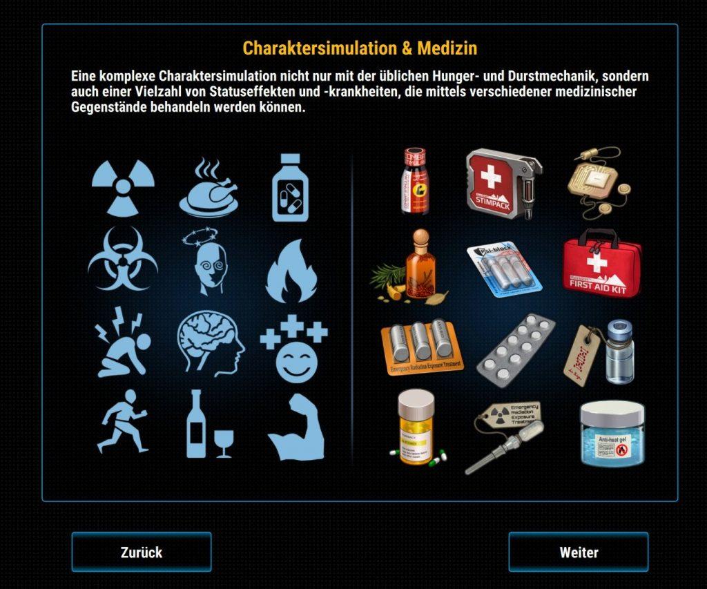 Efectos sobre el estado y la medicina Cryofall