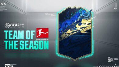 FIFA 21: TOTS - Votación del equipo de la temporada de la Bundesliga