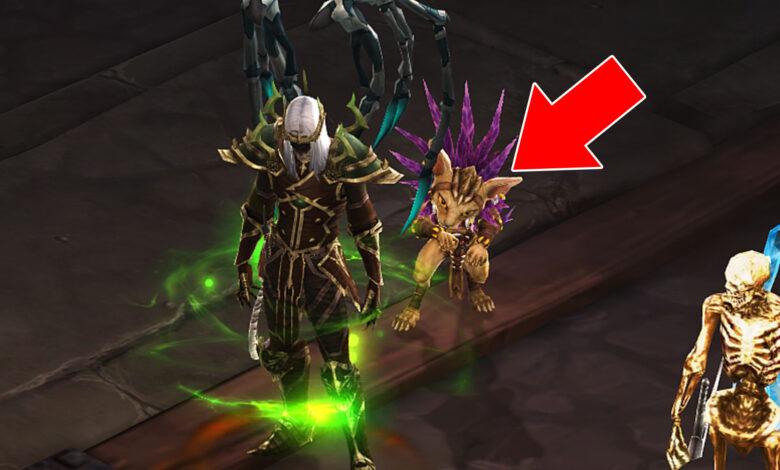 3 logros fáciles en Diablo 3 con los que puedes asegurar a la linda mascota