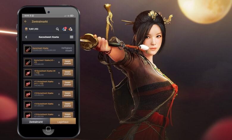 Black Desert ahora tiene una aplicación genial que todo MMORPG debería tener