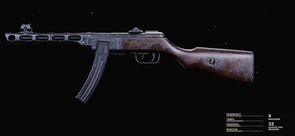 Zona de guerra PPSh-41