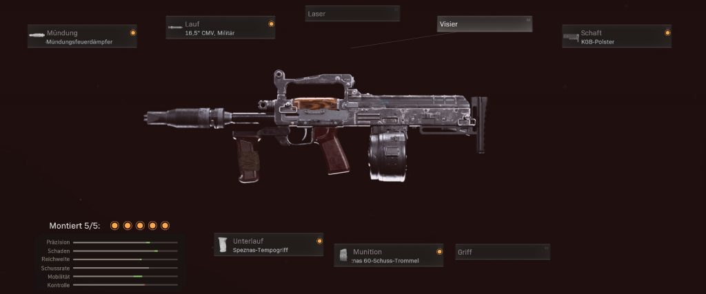 cod warzone groza configurar arma temporada 2