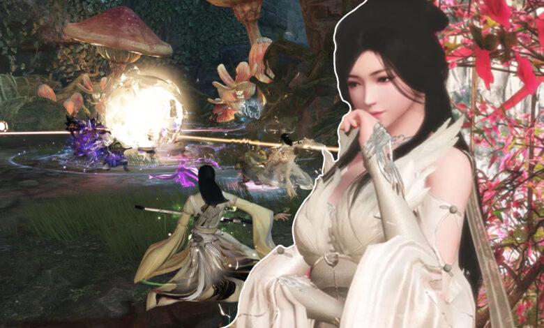 El nuevo MMORPG Swords of Legends muestra a los bardos luchando y curando con música
