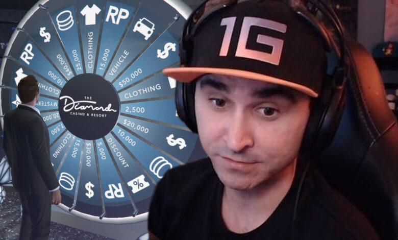 El streamer de Twitch se abre paso en GTA Online y obtiene karma de inmediato