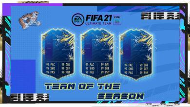 FIFA 21: Calendario TOTS - Equipo de la temporada