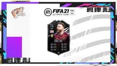 FIFA 21: Goles de Stuart Dallas Silver Stars - Requisitos