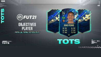 FIFA 21: Joao Pedro Silver Stars TOTS Moments Objetivos - Requisitos