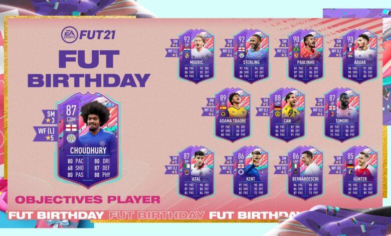 FIFA 21: Objetivos de cumpleaños de Hamza Choudhury FUT - Requisitos