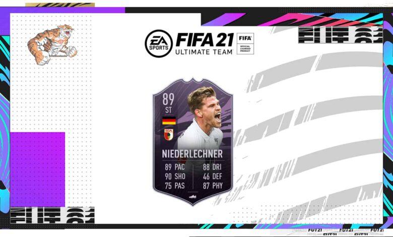 FIFA 21: Objetivos del jugador de la Liga Florian Niederlechner - Requisitos