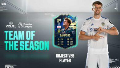 FIFA 21: Patrick Bamford TOTS Objetivos - Requisitos