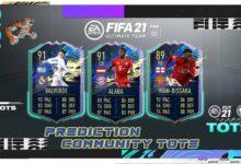 FIFA 21: Predicción de la comunidad TOTS