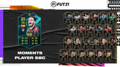 FIFA 21: SBC Saul Moments - Requisitos y soluciones
