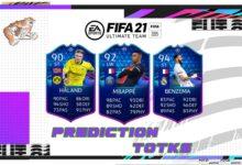 FIFA 21: TOTKS - Equipo de predicción de la fase eliminatoria del torneo