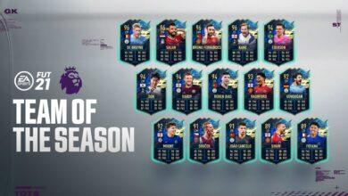 FIFA 21: TOTS Premier League - Anunciado el equipo de la temporada