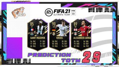 FIFA 21: TOTW 29 - Predicción del nuevo equipo de la semana
