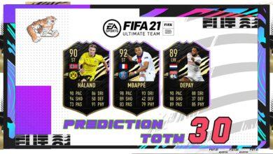 FIFA 21: TOTW 30 - Predicción del nuevo equipo de la semana