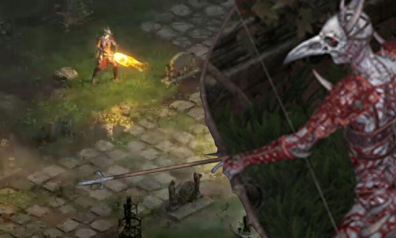"""Jugador decepcionado con el diseño del oponente en Diablo 2: Resurrected - """"No como el original"""""""